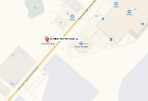 маршрут эвакуатора в омске: Архитекторов бульвар 30к1, буксир 24